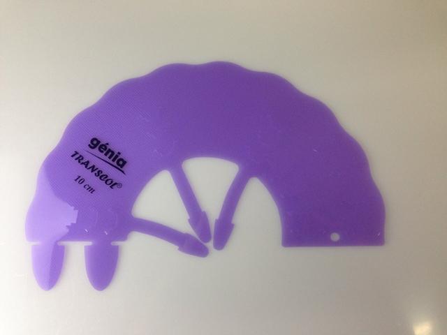 【エリザベスカラー】トランスカル深さ10cm 色:紫